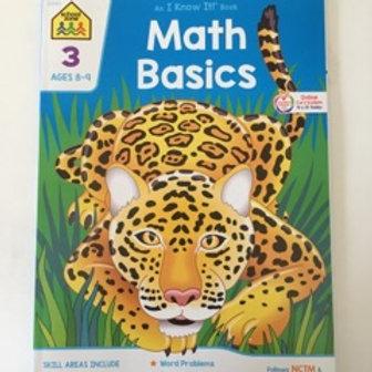 School Zone Math Basics