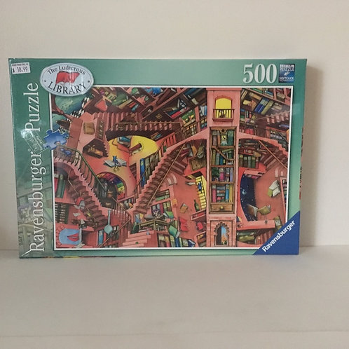 Ravensburger The Ludicrous Library Puzzle