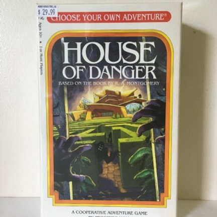 Choose Your Own Adventure Game - House of Danger