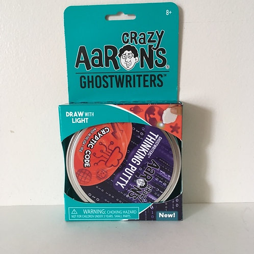 Crazy Aaron's GhostWriters Cryptic Code Thinking Putty