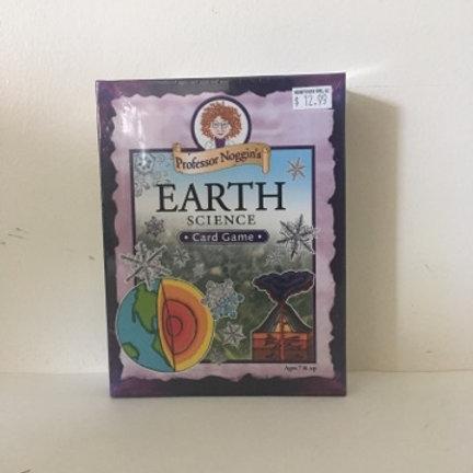 Professor Noggin's Earth Science Card Game