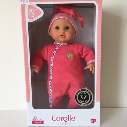 Corolle 12 inch Myrtille Baby Doll #100060