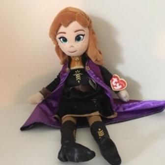 TY Sparkle Disney Frozen 2 Anna Plush Doll