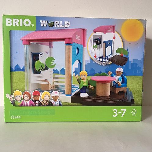 Brio World Ice Cream Stand with Figures - #33944