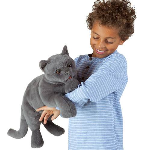 Folkmanis Purring Cat Puppet