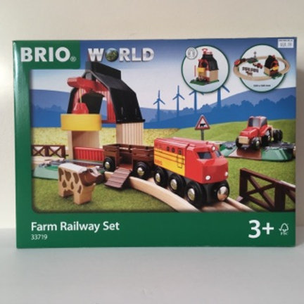 Brio Farm Railway Set #33719