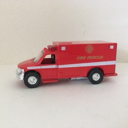 Die Cast Fire Rescue Vehicle