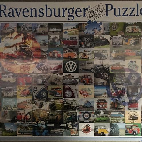 Ravensburger 99 VW Campervan Moments Puzzle