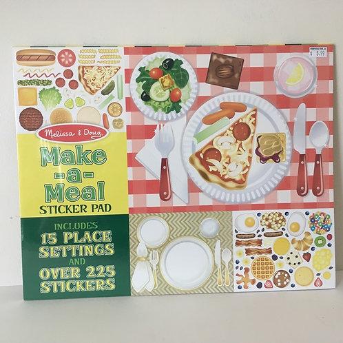 Melissa & Doug Make a Meal Sticker Pad