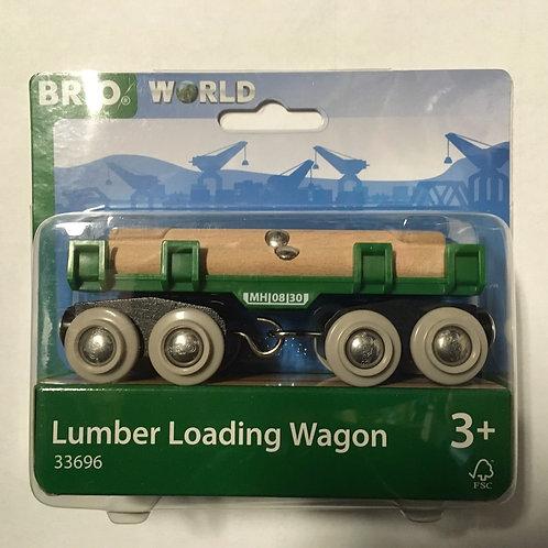 Brio Lumber Loading Wagon # 33696