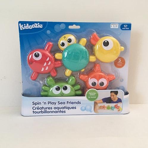Kidoozie Spin'n Play Sea Friends