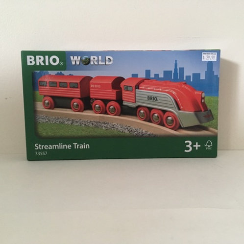 Brio World Streamline Train #33557