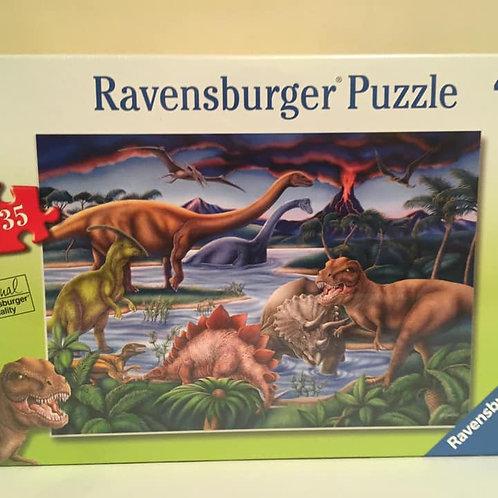 Ravensburger 35 pc Puzzle, Dinosaurs
