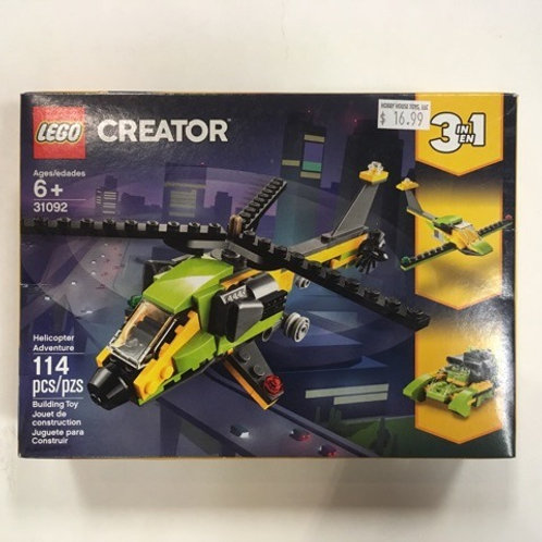 Lego Creator HAelicopterdventure #31092