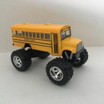 Die Cast Monster School Bus