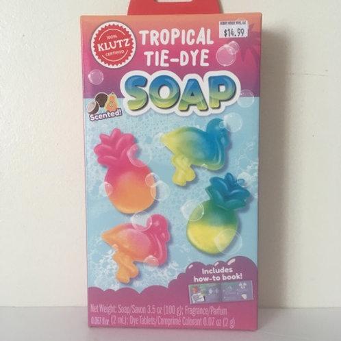 Klutz Tropical Tie Dye Soap