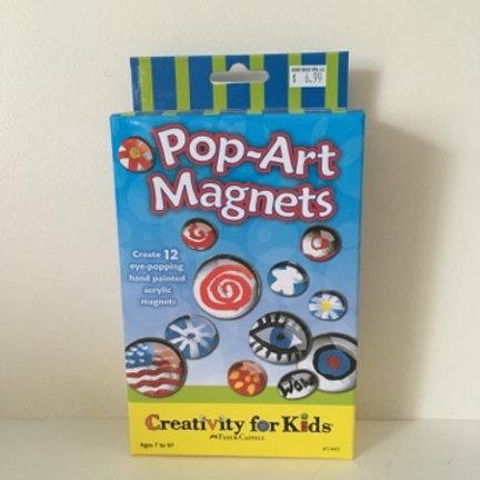 Creativity For Kids - Pop Art Magnets