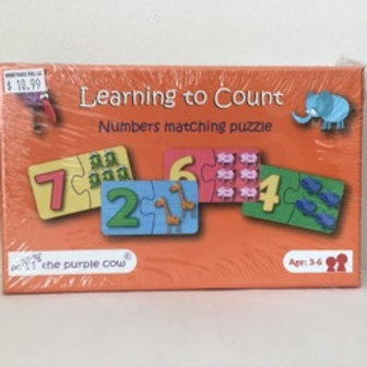 Learning To Count  Numbers Matching Puzzle
