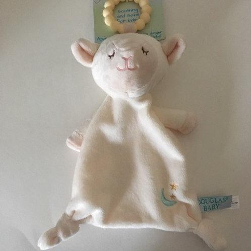 Douglas Baby Lil' Shlumpie Teether Lamb