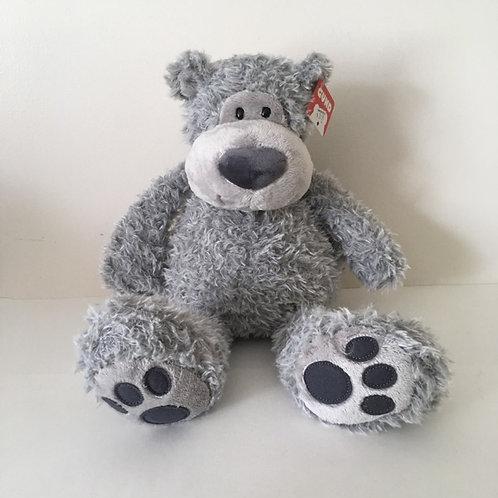Gund Slouchers Bear Plush - Gray