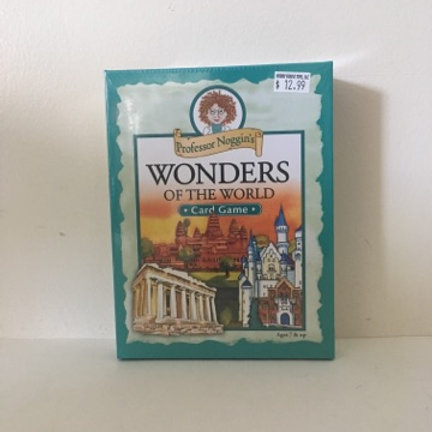 Professor Noggins Wonders of the World Card Game