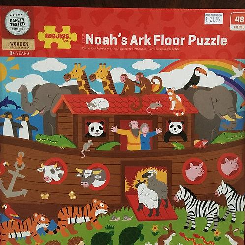 Big Jigs Noah's Ark Floor Puzzle, 48 pcs