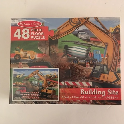 Melissa & Doug Floor Puzzle - Building Site