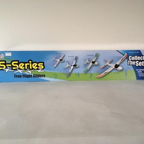 Firefox S-Series Free Flight Gliders