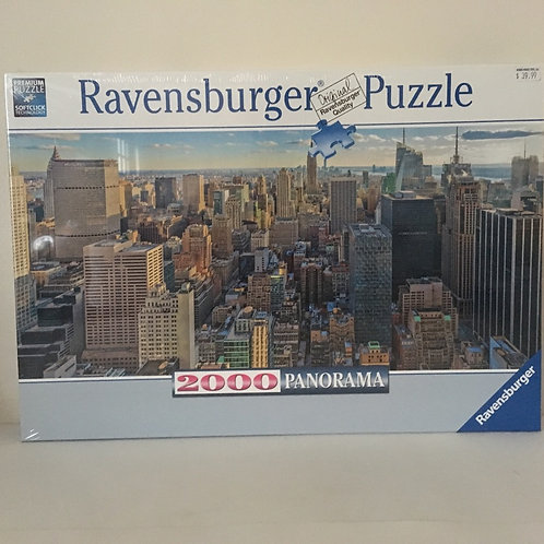 Ravensburger Panorama View over New York Puzzle