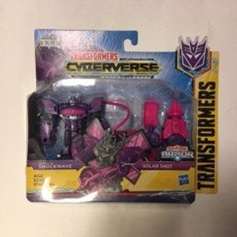Transformers Cyberverse - Shockwave Solar Shot