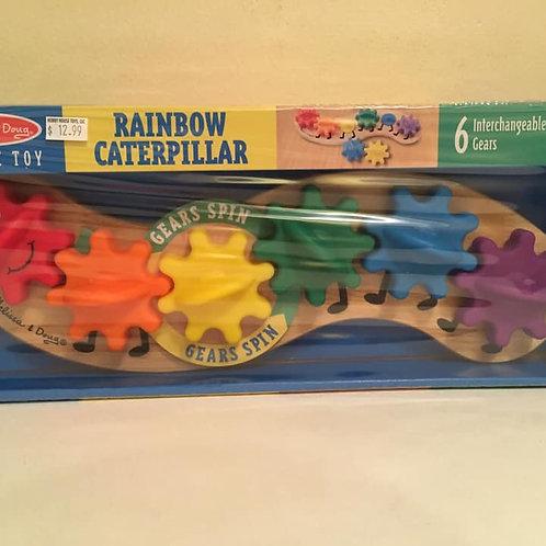 Melissa & Doug Rainbow Caterpillar, 6 Interchangeable Gears