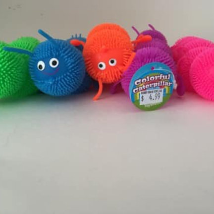 Colorful Caterpillar (Each sold individually)