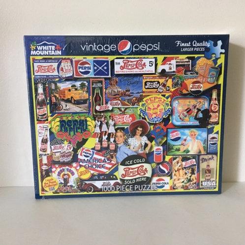 White Mountain Vintage Pepsi Puzzle
