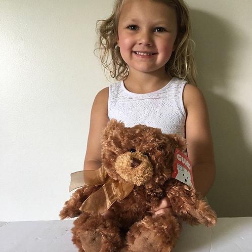 Gund Corin Brown Bear Plush