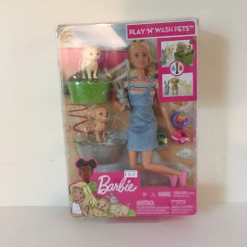 Barbie Play'n'Wash PETS