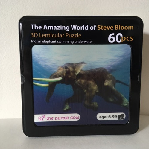 The Amazing World of Steve Bloom Puzzle Lenticular Puzzle