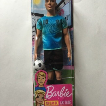 Barbie Ken Soccer Doll