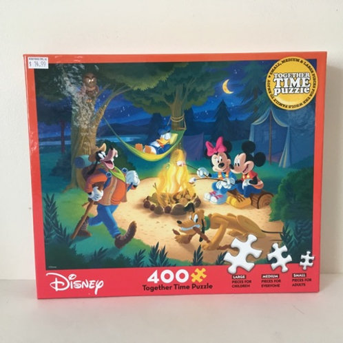 Disney Together Time Puzzle Campfire