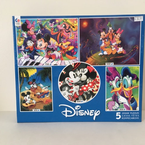 Ceaco Disney Puzzles (5 in 1)