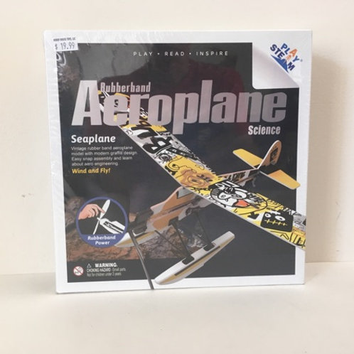 Play Steam Rubberband Aeroplane Science - Seaplane