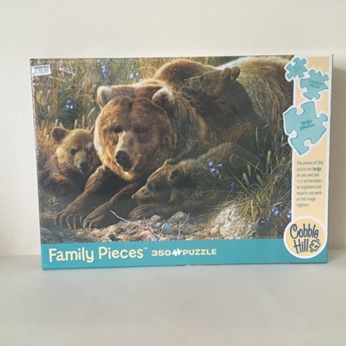 Cobble Hill Grizzly Family Puzzle