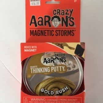 Crazy Aarons Magnetic Storms - Gold Rush Thinking Putty