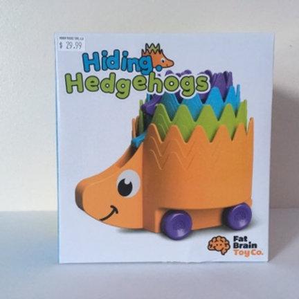 Fat Brain Hiding Hedgehogs