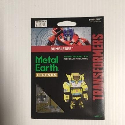 Metal Earth Transformers Bumblee