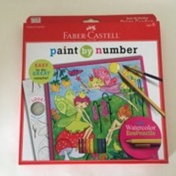 Creatvity for Kids Paint by Number Fairy Garden