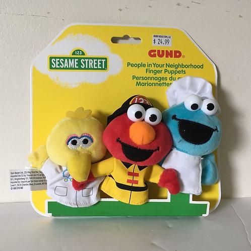 Gund Sesame Street Puppets Set