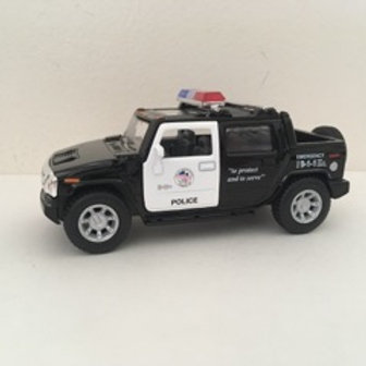 Die Cast Emergency Police Vehicle