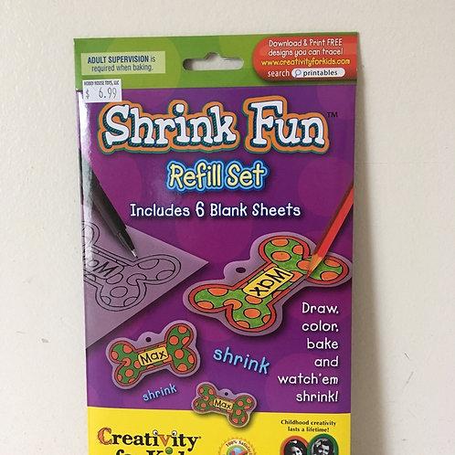 Creativity for Kids Shrink Fun Refill Set