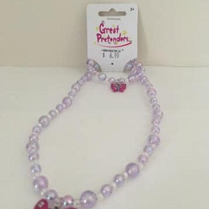 Great Pretenders, Necklace & bracelet set, Butterfly