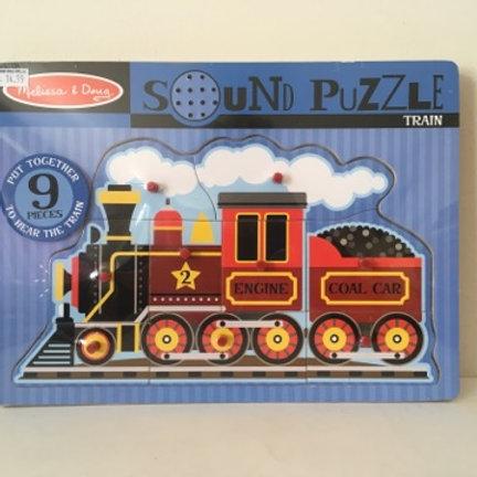 Melissa & Doug Sound Puzzle - Train
